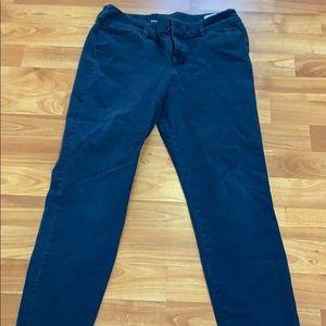 Pants - Old navy blue pixie pants